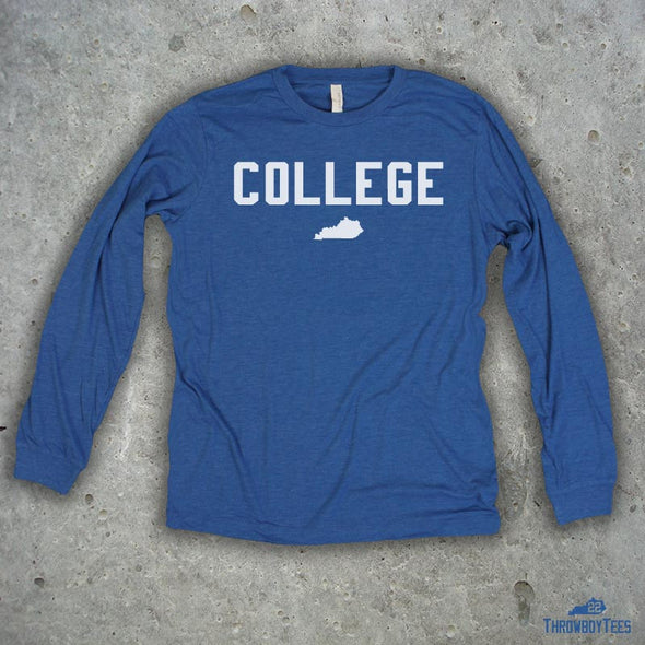 College - Blue Longsleeve