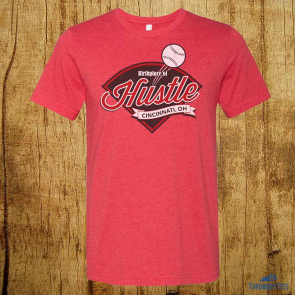 Birthplace of Hustle - Red Tee