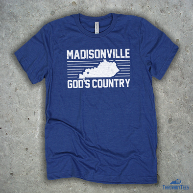 Madisonville God's Country - Royal Tee