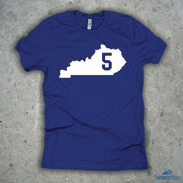 Kentucky Number Tee - #5