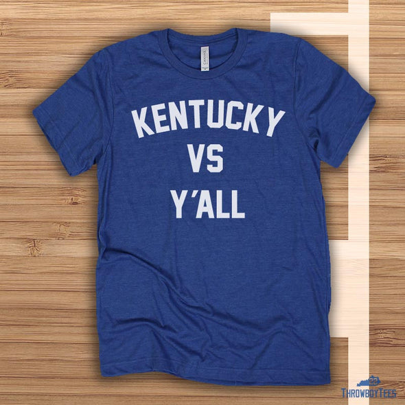 Kentucky Vs Yall - Blue tee