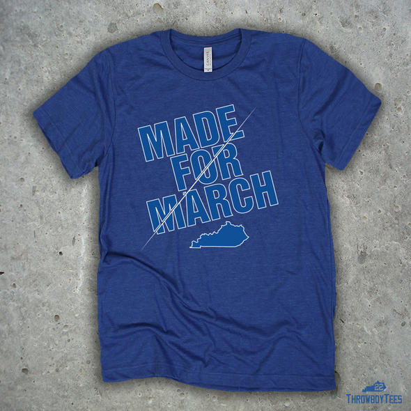 Made for March - Blue Tee