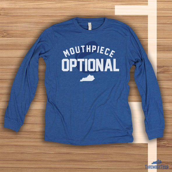 Mouthpiece Optional - Blue Longsleeve