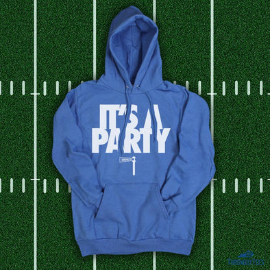 It's a Party - Blue Hoodie