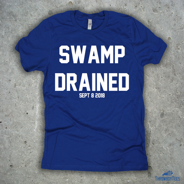 SWAMP DRAINED