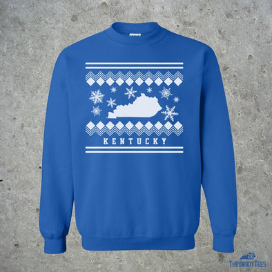 Ugly - blue sweatshirt