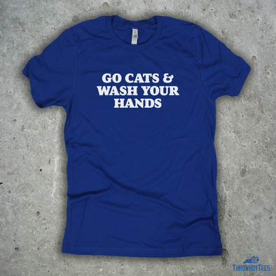 Go Cats & Wash Your Hands