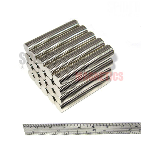 Magnets 10x1 mm Neodymium Discs 10mm diameter x 1mm thick