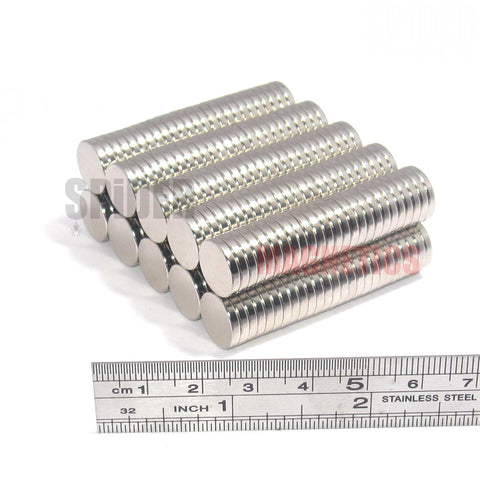 Magnets 12x2 mm Neodymium Discs 12mm diameter x 2mm thick