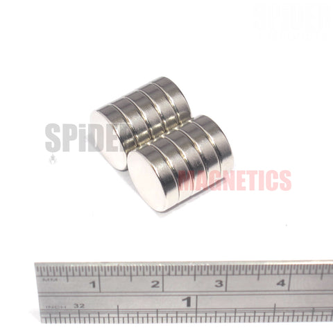 Magnets 12x3 mm Neodymium Discs 12mm diameter x 3mm thick