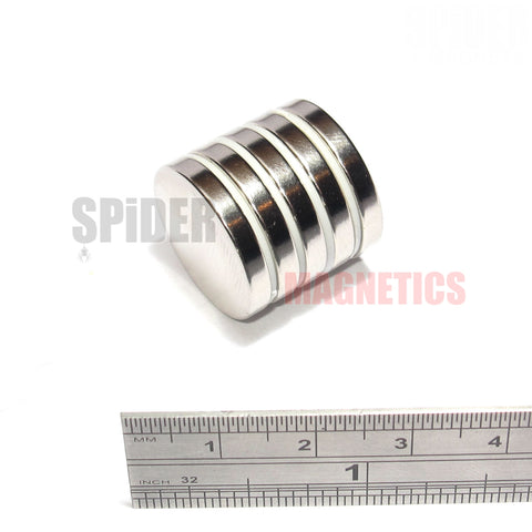 Magnets 20x3 mm Neodymium Discs 20mm diameter x 3mm thick