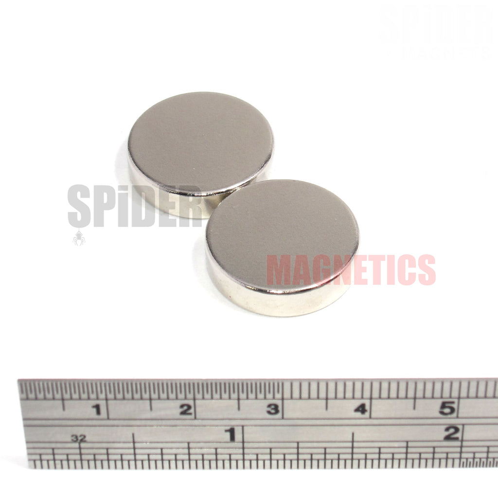Magnets 20x5 mm Neodymium Discs 20mm diameter x 5mm thick