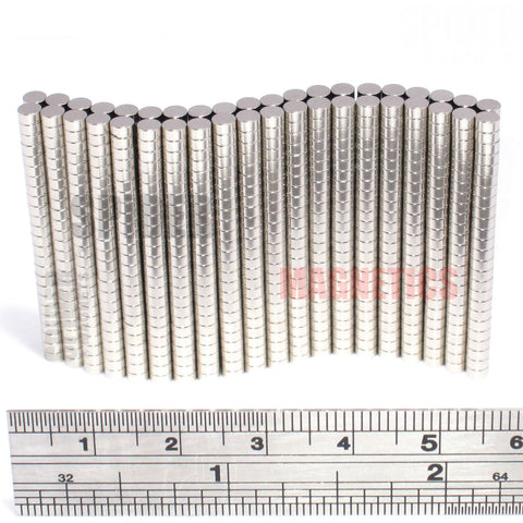 Magnets 3x1.5 mm N52 Grade Neodymium Discs 3mm diameter x 1.5mm thick