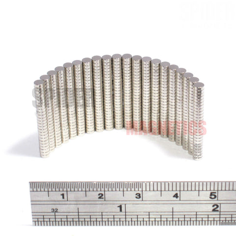 Magnets 3x1 mm N35 Grade Neodymium Discs 3mm diameter x 1mm thick