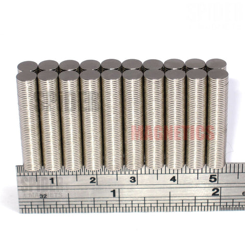 Magnets 5x0.5 mm Neodymium Discs 5mm diameter x 0.5mm thick