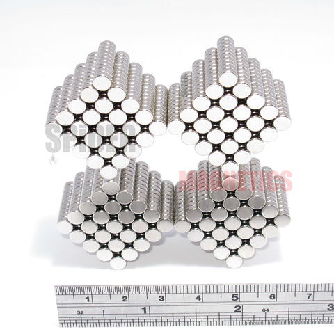 Magnets 5x2 mm Neodymium Discs 5mm diameter x 2mm thick
