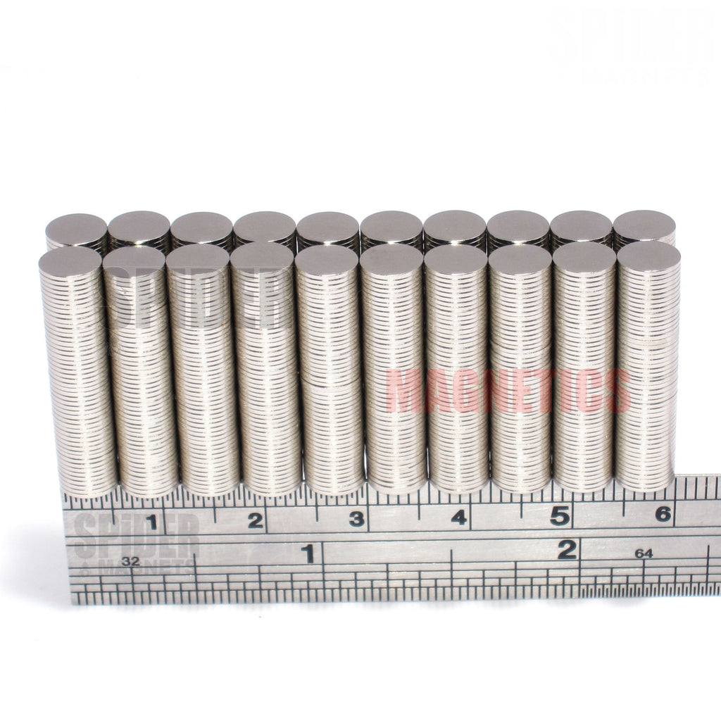 Magnets 6x0.5 mm Neodymium Discs 6mm diameter x 0.5mm thick
