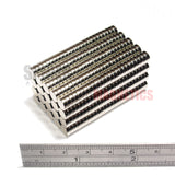Magnets 6x2 mm N52 grade neodymium discs 6mm diameter x 2mm