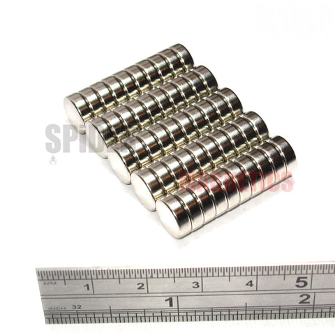 Magnets 9x3 mm Neodymium Discs 9mm diameter x 3mm thick