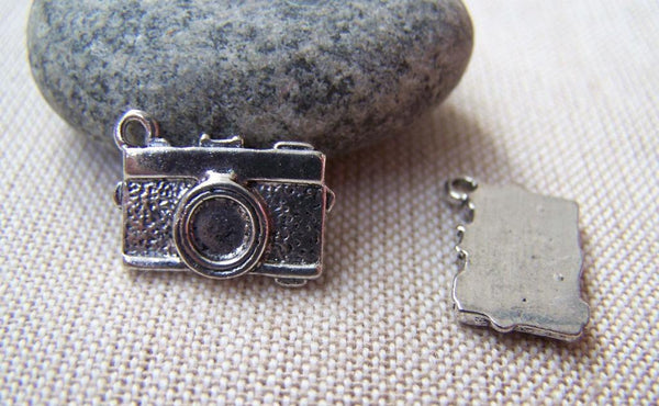 Accessories - 10 Pcs Of Tibetan Silver Antique Silver Camera Charms 13x17mm A1789