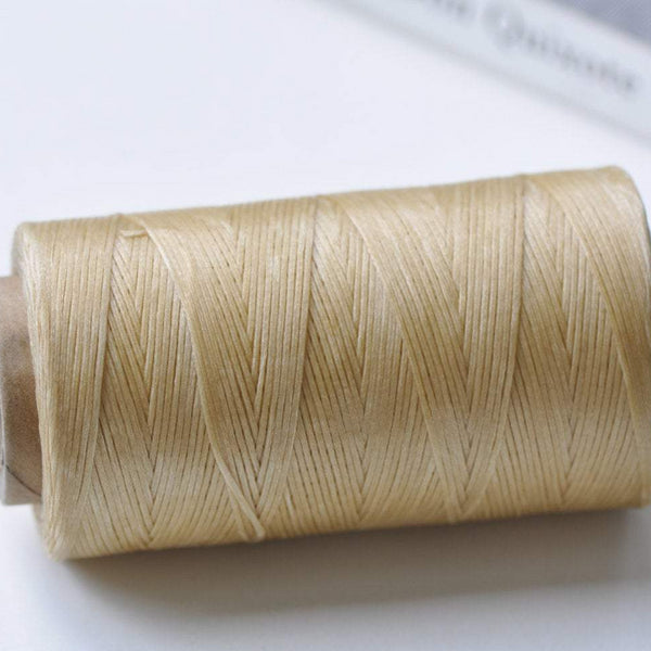Flat Wax Cord Polyester Thread For Leather Hand Sewing