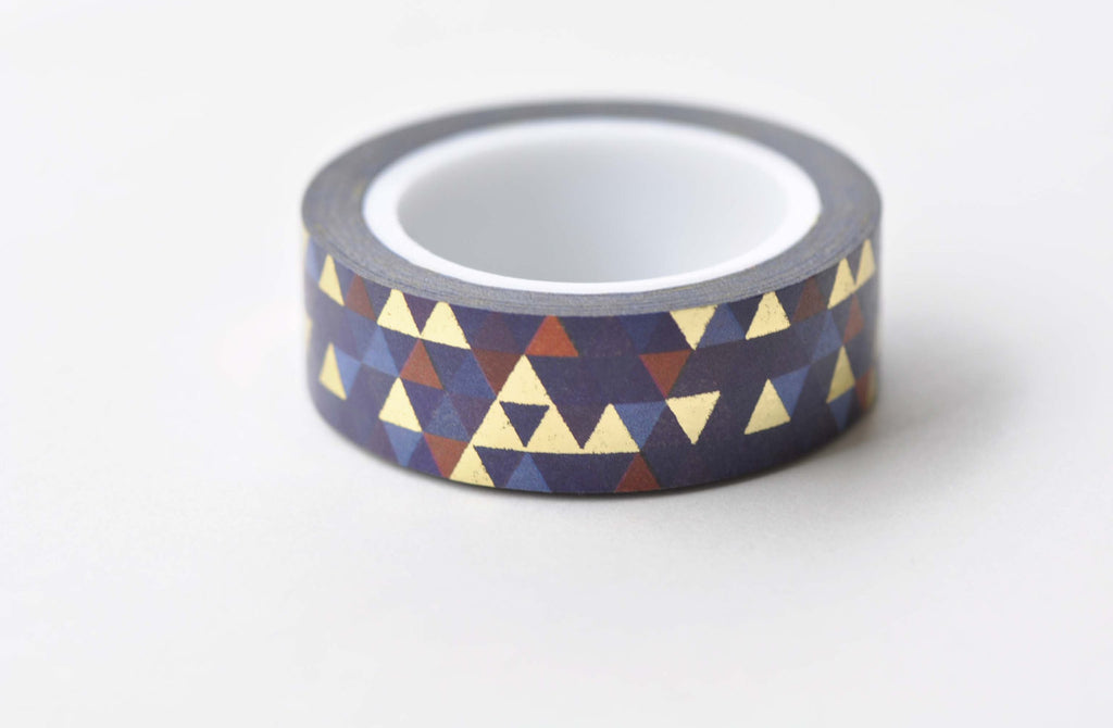 Triangle Pattern Washi Tape Wallpaper 15mm x 10M Roll A12155
