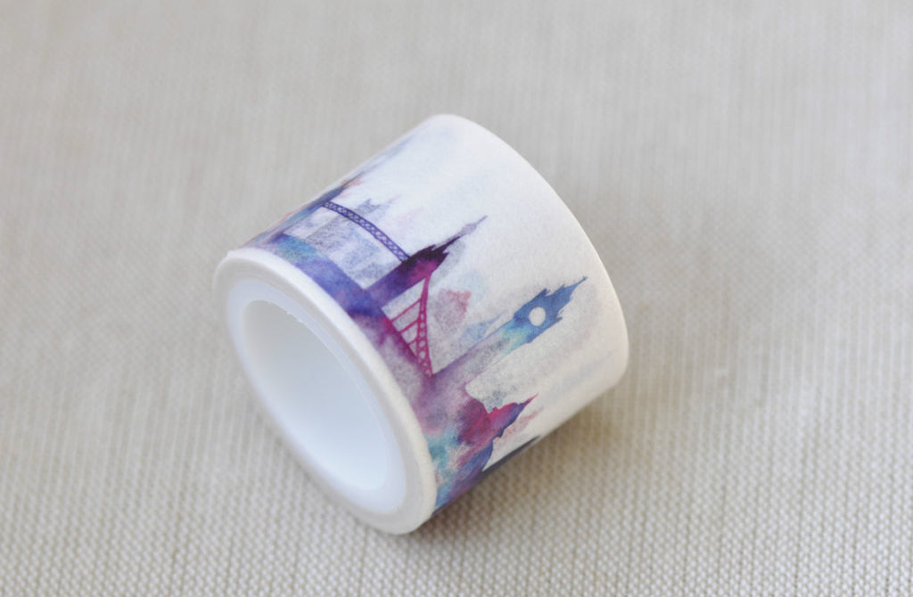 Classic Architecture Washi Tape Wide Masking Tape 30mm x 5M A12066