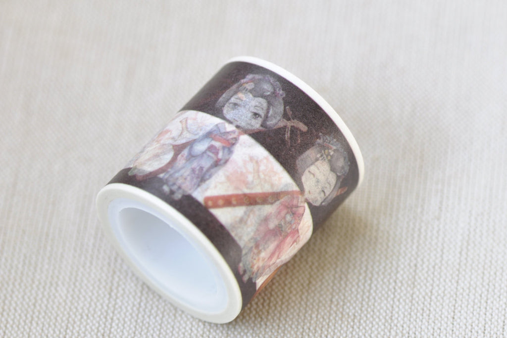 Japannese Girl Geisha Washi Tape Masking Tape 40mm x 5M Roll A12141