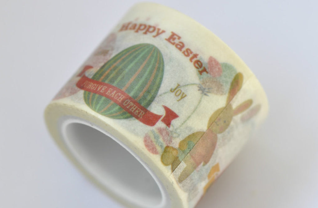 Happy Easter Washi Tape Japanese Masking Tape 30mm x 5M Roll A12030