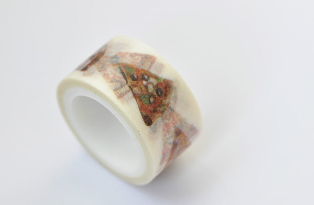 Pizza Washi Tape Deco Tape 20mm x 5M Roll A12211