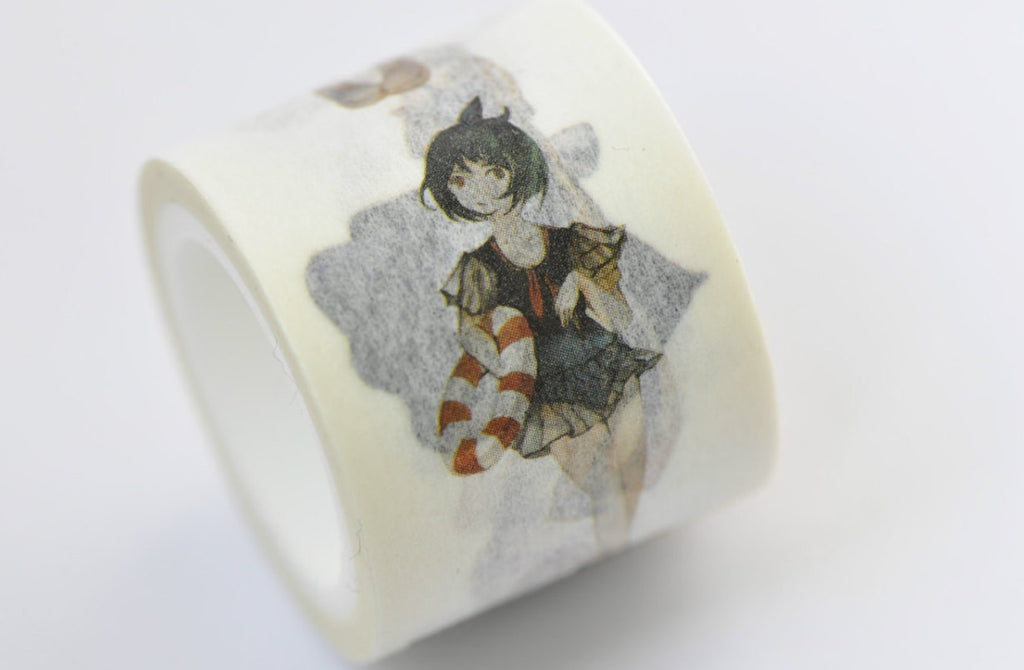 Lovely Lolita Girls Washi Tape 30mm x 5M Roll A12227