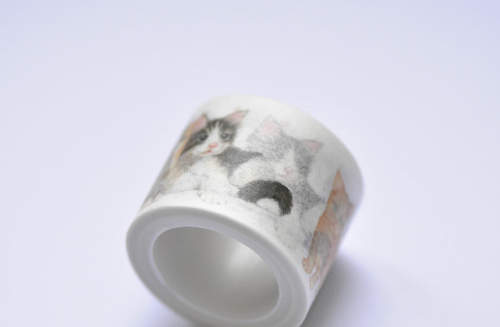 Lovely Cat Washi Tape 30mm x 5M Roll A12104