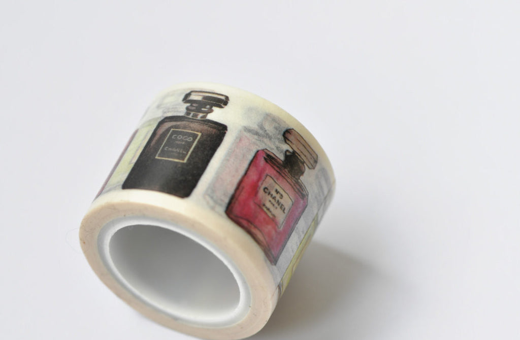 Perfume Bottle Washi Tape 30mm x 5M Roll A12042