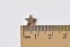 10 pcs Tiny Star Spacer Beads Anti Tarnis Gold 8mm A8842