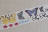 Butterfly Washi Tape Japanese Masking Tape 30mm Wide A12237