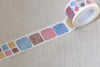 1 Roll Colorful Washi Tape Planner Tape 20mm Wide x 5M Long A12269