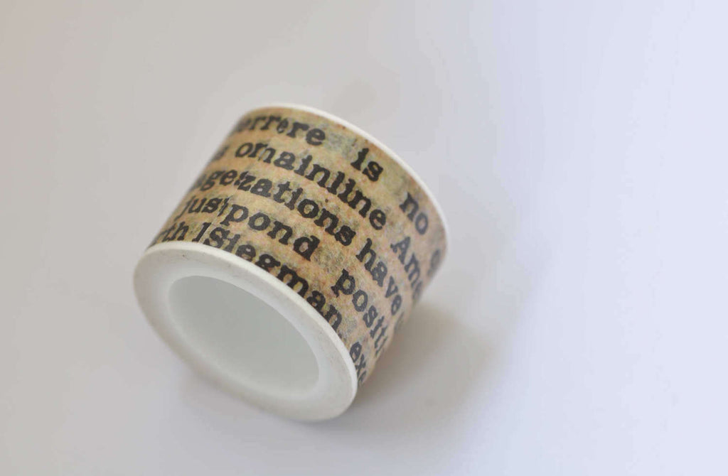 Political Quotes Washi Tape 30mm Wide 5M Long A12280