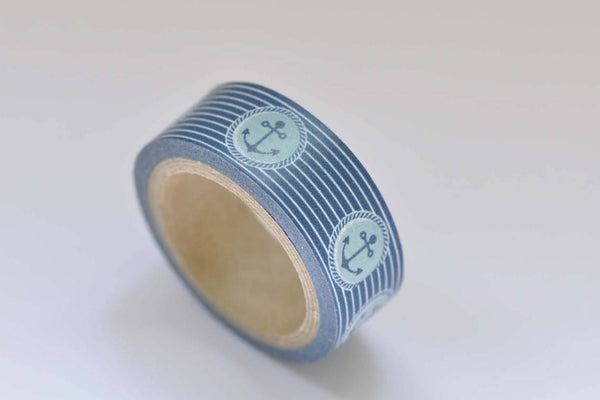Anchor Washi Tape Japanese Masking Tape 15mm x 5M Roll A12363