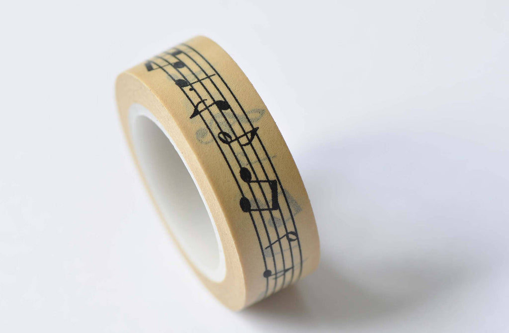 Music Note Washi Tape Musical Planner Tape A12512