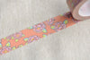 Fancy Floral Design Washi Tape 15mm Wide x 10m Roll A12557