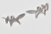 30 pcs Antique Silver Lovely Fox Charms 10x20mm A8978