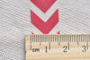Red Chevron Wave Washi Tape 15mm Wide x 10M Roll A12513