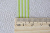 Green Lines Stripes Adhesive Washi Tape 15mm Wide x 10M Roll A12575