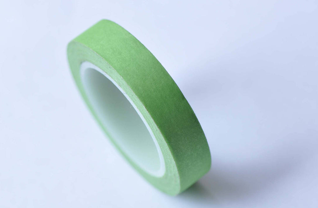 Skinny Green Washi Tape Masking Tape 10mm x 10M Roll A12759