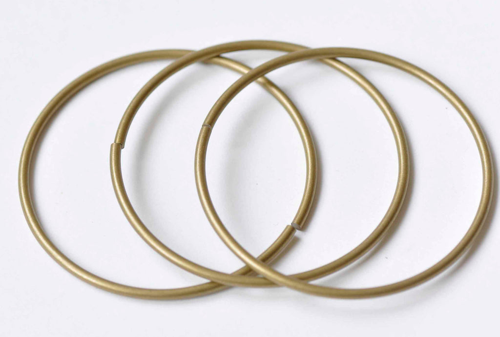 "10 pcs Antique Bronze 2"" Large Circle Rings 52mm 13 gauge A9023"