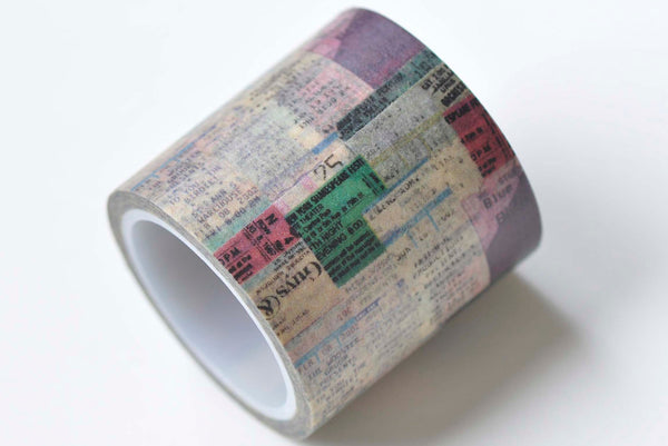 Retro Washi Tape Vintage Decorative Tape 40mm wide x 5m long A13277