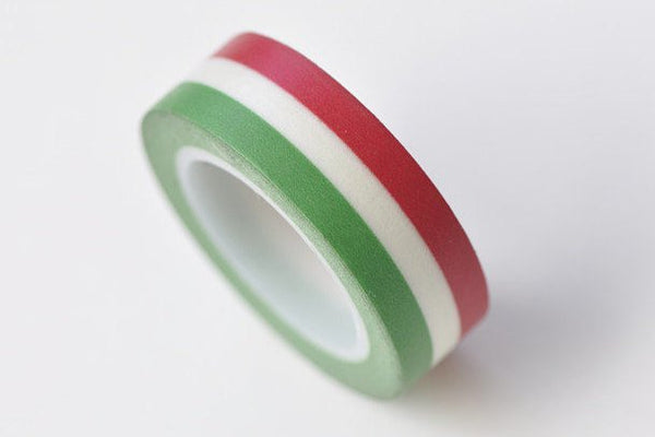 Colorful Stripes Decorative Washi Tape 15mm x 10M A13320