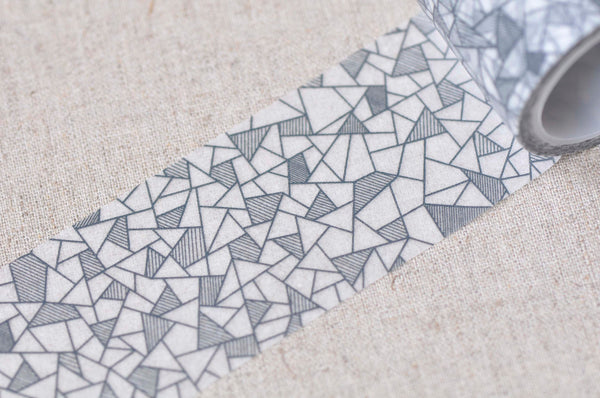 Geometric Shapes Masking Washi Tape  40mm x 5M A13273