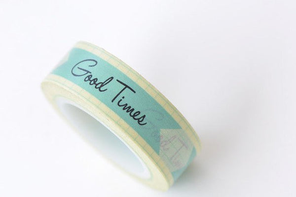 Lovely Good Times Washi Tape 15mm Wide x 10m Roll A13324