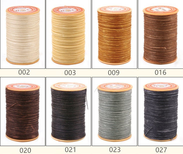 0.45mm Thin Wire Wax Polyester Thread Cord 148 meters/ 161 yards